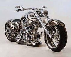 Total Chrome Madness | Custom Built Chopper Motorcycles | Cool Custom Choppers