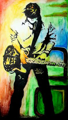 rock star painting in 2016
