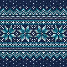 Бесшовный: Праздничные и модные свитера дизайн. Бесшовные вязаный узор Иллюстрация