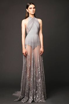 Elio Abou Fayssal Couture 2015-2016: myfashion_diary I can totally see Lily Collins in something like this