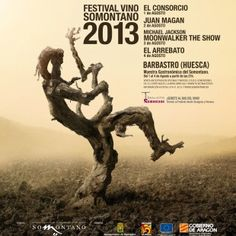 Del 1 al 4 de agosto…FESTIVAL VINO SOMONTANO 2013