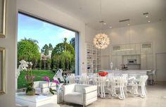 Belle maison de prestige de plain-pied à l'architecture contemporaine