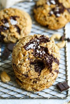 5 Min Paleo Chocolate Chip Cookies | The Movement Menu
