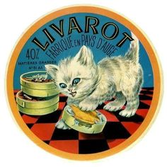 Livarot - Vintage French cheese label