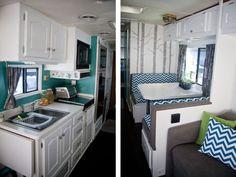 rv renovation | RV / Motorhome Interior Remodel | Not All Those Who Wander...