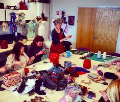 Julie Arkell (Visiting artist workshops) © Swansea College of Art UWTSD Surface Pattern Design