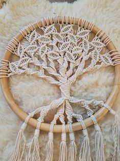 Tree of Life Macrame Wall Hanging #treeoflife #macramewallhanging #yoga