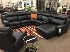 Our Corbin just arrived as a sectional and it's oh so comfy! Available with or without the chaise. $2498 as shown with 1 power recliner and the chaise. More info: http://www.sofaland.ca/Corbin. ---------------------------------------------- #Reclining #Sectional #Power #Comfy #Comfort #Furniture #yegFurniture #yycFurniture #Camrose #InteriorDesign #yegInteriorDesign #yycInteriorDesign #yegHomes #yycHomes #FurnitureDoneRight #ForYourHome