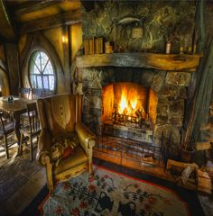 Pin by Danielle Ballinger on Rustic Guy Stuff 4 Fairytale house Storybook homes Hobbit house