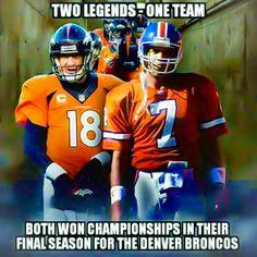 Denver Broncos Football, Broncos Fans, Football Memes, Sports Memes, Football Players, John Elway, Different Sports, Sports Figures, Peyton Manning