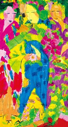 WALASSE TING http://www.widewalls.ch/artist/walasse-ting/ #abstractexpressionism #popart
