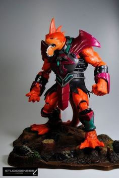 """*NEW* Masters Of The Universe Classic SAW TOOTH Custom 8""""  MOTUC Action Fig 