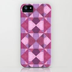 Purple Angles iPhone & iPod Case by Empire Ruhl - $35.00