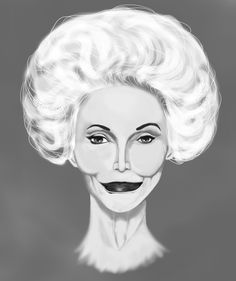 I found this woman named Carmen Dell'orefice and she is known as the oldest Supermodel in the world. I loved her look, she is gorgeous and most importantly I loved her personality, her life story, and her talent for working the camera. She is a woman who has not only aged gracefuly but has exuded confidence and grace in every photo. I was compelled to make a portrait of her so here it is.  -Berkley Mutisya #CarmenDell'orefice #beauty #age #portrait #digitalpainting #supermodel #fashion