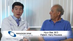Need to hear some GOOD news today?  Check out this inspiring story of recovery from patient Harry Roussos and Dr. Hyun Bae -- hear Harry's story of how #coflex surgery made a monumental difference in the quality of his life: https://www.youtube.com/watch?v=n-Mi0lrFH6A  #backpain #backtreatment #spine #spinalstenosis