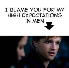 I hate you Josh/Peeta, go away forever. Wait no, come back. That was tracker jacker poison talking.
