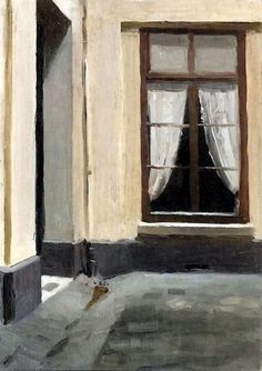 © Edward Hopper (Nyack, 22 luglio 1882 – New York, 15 maggio 1967) - Interior Courtyard at 48 rue de Lille, Paris, 1906