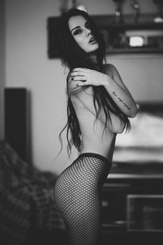 pin for the classic black fishnet tights Fishnet Stockings, Fishnet Tights, Nylons, Black Tights, Portraits, Boudoir Photography, Boudoir Poses, Fantasy Photography, White Photography