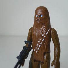 Vintage Star Wars Action Figure, Chewbacca, 1977 Kenner.