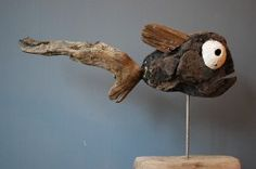 Driftwood sculture - Slowie