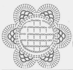 lo spazio di lilla: Schemi di motivi all'uncinetto / Crochet motifs charts