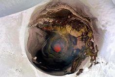 Cratera ativa Villarrica