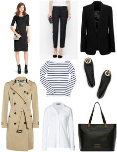 eight parisian style essentials for the professional woman via House of Marbury