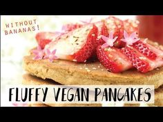 Fluffy Vegan Pancakes without Bananas | Gluten-Free and Oil-Free