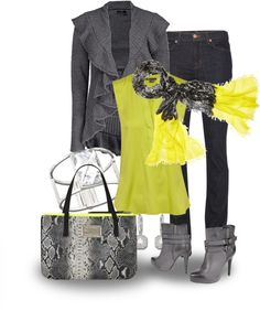 """""""Ruffle front sweater"""" by marincounty on Polyvore"""