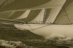 Tuiga : 30 meter long 15MJI Aurique. William Fife & Sons. Yacht Club of Monaco.  Marishka : 23,4à meter 15MJI. Bult in 1908. Architect : W FIFE III  Tous droits réservés