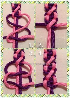 Paracord Friendship Bracelet Tutorial