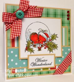 Made for Quick Cards Made Easy Magazine using Mulberry Wood Stamps. More info on my blog - http://kittyskrafty.blogspot.co.uk/2014/12/mulberry-wood-christmas-part-one.html