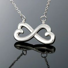Infinity Heart Necklace for Gorgeous Wife. Infinity Heart Necklace for Gorgeous Girlfriend, Anniversary Gift for wife Infinity Heart, Infinity Pendant, Infinity Love, Infinity Necklace, To Infinity And Beyond, Love Necklace, Pendant Necklace, Sister Necklace, Anchor Necklace