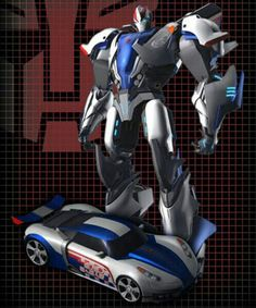 Transformers Prime Smokescreen.