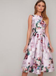 Midi Skirt With Pockets, Pleated Midi Skirt, Floral Midi Dress, Elegant Midi Dresses, Casual Dresses, Grad Dresses, Summer Dresses, Fast Fashion Brands, Vintage Style Outfits