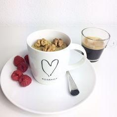 Mugcake koffie en noten, top combinatie