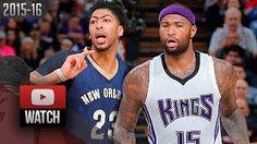 Anthony Davis - New Orleans Pelicans - DeMarcus Cousins - Sacramento Kings