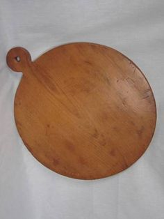 Large Prim Old Wood Cutting Pastry Bread Wooden Dough Board 21 inch Lollipop Top | eBay