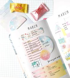 Sometimes the smallest ideas can make the biggest impact so make sure you always have our sticky note pad at hand to capture all your notes and scribbles. March Bullet Journal, Bullet Journal Spread, Bullet Journals, Kawaii Pens, Pen Shop, So Creative, Planner Organization, Planner Pages, Sticky Notes