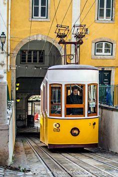 Elevador da Bica, Lisboa - Portugal