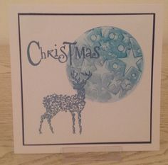 Clarity NDC stamp, mini gel press printing plate & Clarity mini stencil Christmas 2016