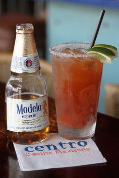 Michelada    ~Cocktail photos from Centro Cocina Mexicana in Sacramento, CA~