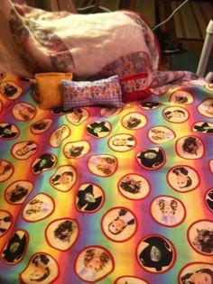 "18"" Wizard of Oz 4 pc American doll bedding. Sold on grumpy112363@ebay.com"