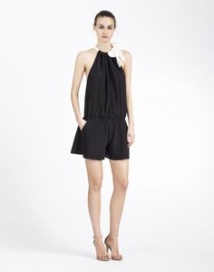 Cynthia Rowley - Side Tie Romper | New Arrivals