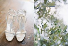 Collette Dinnnigan Bling Sparkle Wedding Shoes