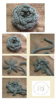 2 Tutos Cordoncillo de Crochet Apliques - Patrones Crochet