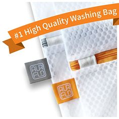 AURFLO Laundry Wash Mesh Bag for DelicatesLingeriesSet of 2 Extra Large Extra Strong Mesh Laundry BagsPremium Quality Wash Bag for Delicates Soft ToysTravel Organizers and Easy PostWash Sorting ** You can find more details by visiting the image link.