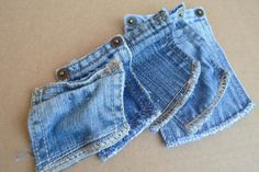 Fun Sized denim Pockets by BlueGeneBaby on Etsy, $5.00