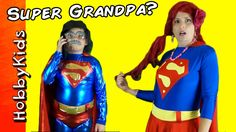 HobbyPig is Superman as a Funny Grandpappy! Giant Surprise Egg, Superhero Shows, A Funny, Superman, Comedy, Pink, Hot Pink, Pink Hair, Funny Movies