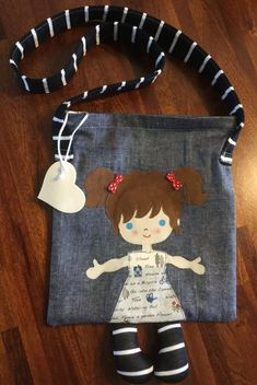 Best 12 One Canvas Doll Carrier / Doll Tote / Taking Along bag / Bed Carrier – SkillOfKing. Fabric Bags, Fabric Dolls, Handmade Bags, Handmade Crafts, Handmade Dolls, Fabric Crafts, Sewing Crafts, Doll Carrier, Denim Crafts